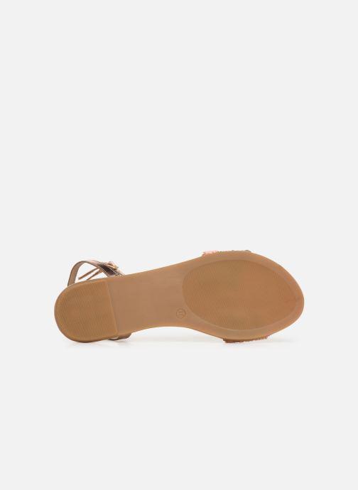 Sandali e scarpe aperte Gioseppo 45282 Rosa immagine dall'alto