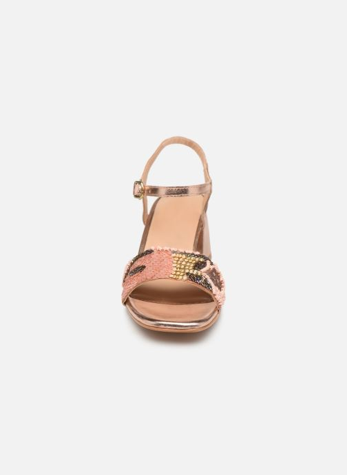 Sandalen Gioseppo 45283 beige schuhe getragen