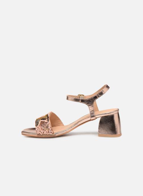 Sandales et nu-pieds Gioseppo 45283 Beige vue face