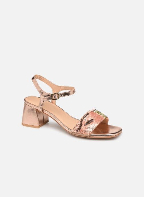 Sandals Gioseppo 45283 Beige detailed view/ Pair view