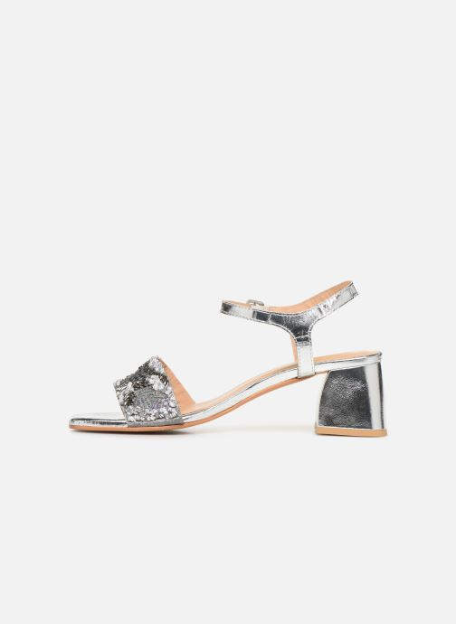 Sandals Gioseppo 45283 Silver front view