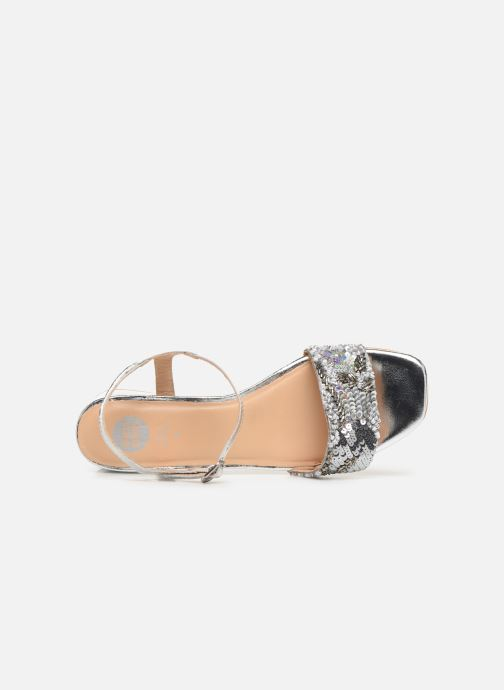 Sandals Gioseppo 45283 Silver view from the left
