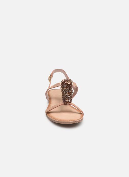 Sandales et nu-pieds Gioseppo 45308 Rose vue portées chaussures