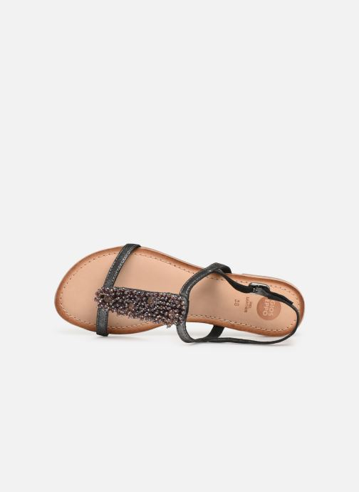 Sandals Gioseppo 45308 Silver view from the left