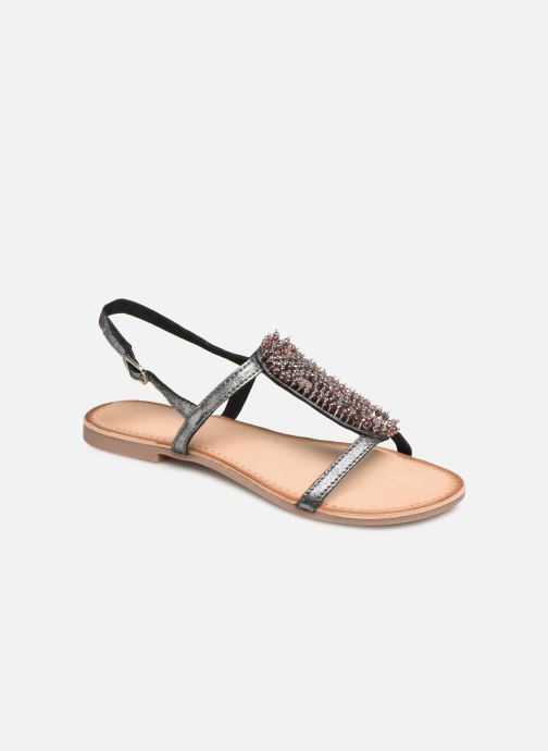 Sandals Gioseppo 45308 Silver detailed view/ Pair view