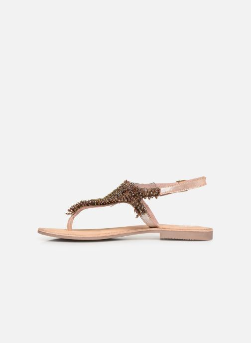Sandals Gioseppo 45309 Bronze and Gold front view