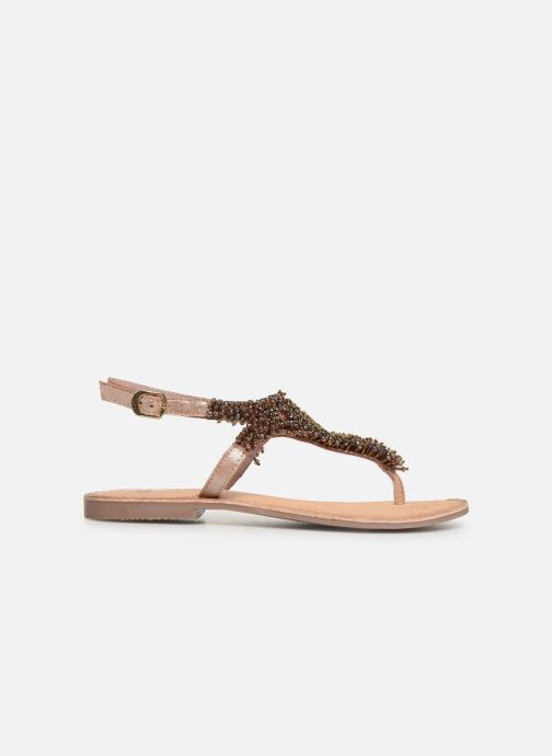 Sandals Gioseppo 45309 Bronze and Gold back view
