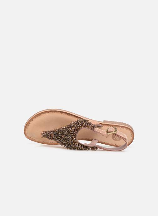 Sandali e scarpe aperte Gioseppo 45309 Oro e bronzo immagine sinistra