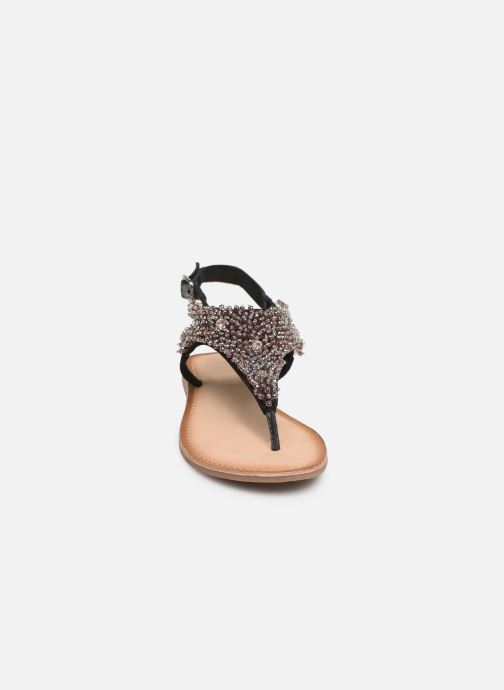 Sandalen Gioseppo 45309 silber schuhe getragen