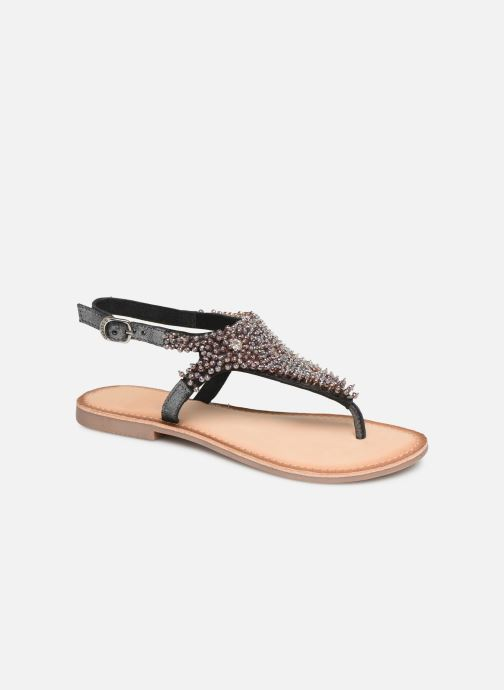 Sandals Gioseppo 45309 Silver detailed view/ Pair view