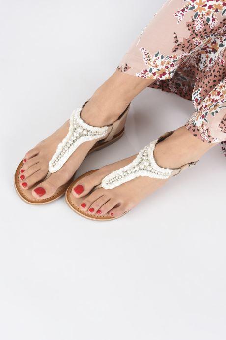 Sandales et nu-pieds Gioseppo 45338 Beige vue bas / vue portée sac