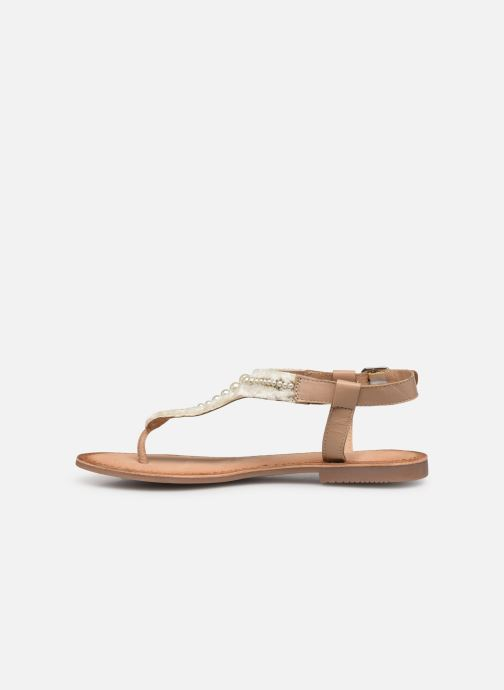 Sandals Gioseppo 45338 Beige front view