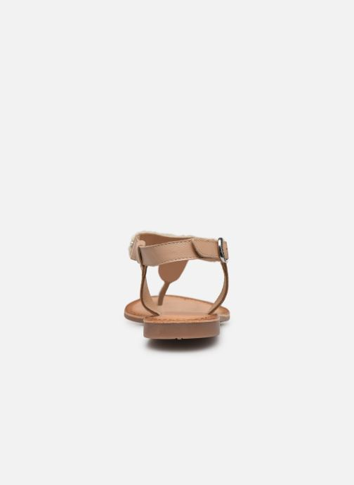 Sandales et nu-pieds Gioseppo 45338 Beige vue droite