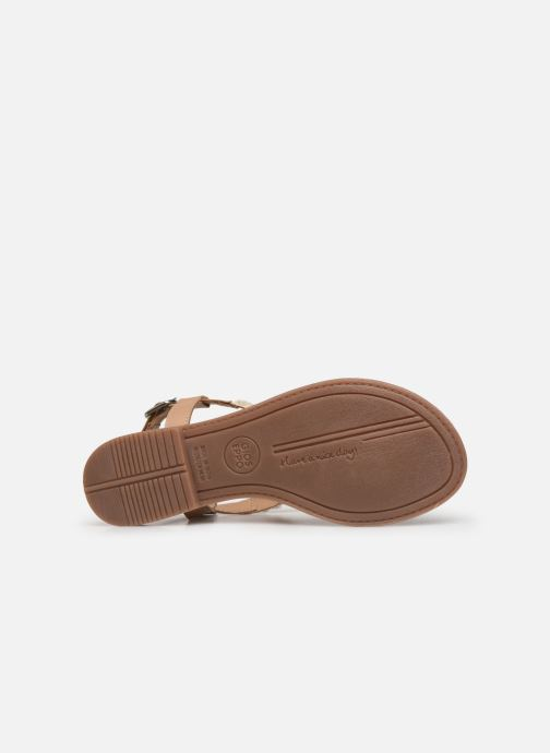 Sandals Gioseppo 45338 Beige view from above
