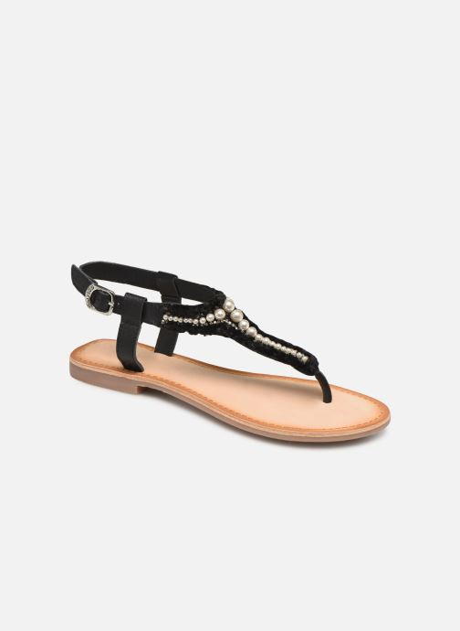 Sandals Gioseppo 45338 Black detailed view/ Pair view