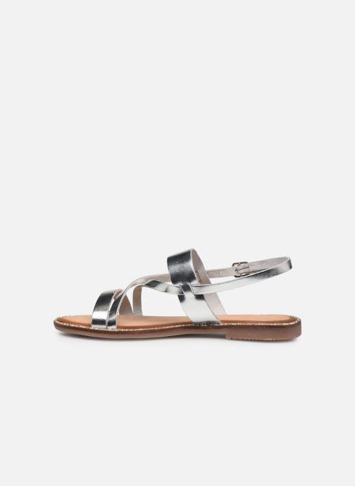 Sandales et nu-pieds Gioseppo 45382 Argent vue face