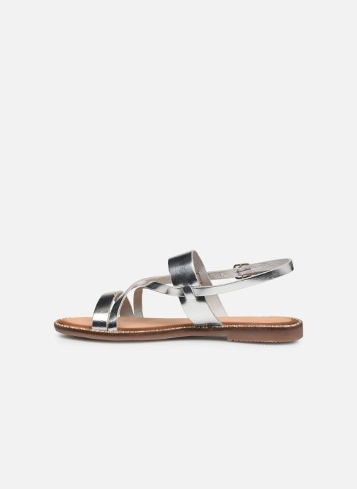 Sandals Gioseppo 45382 Silver front view
