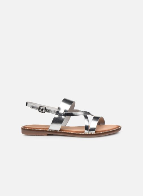 Sandals Gioseppo 45382 Silver back view
