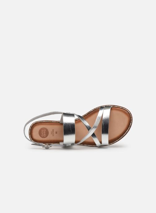 Sandals Gioseppo 45382 Silver view from the left
