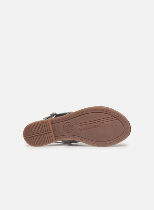 Sandals Gioseppo 45382 Silver view from above