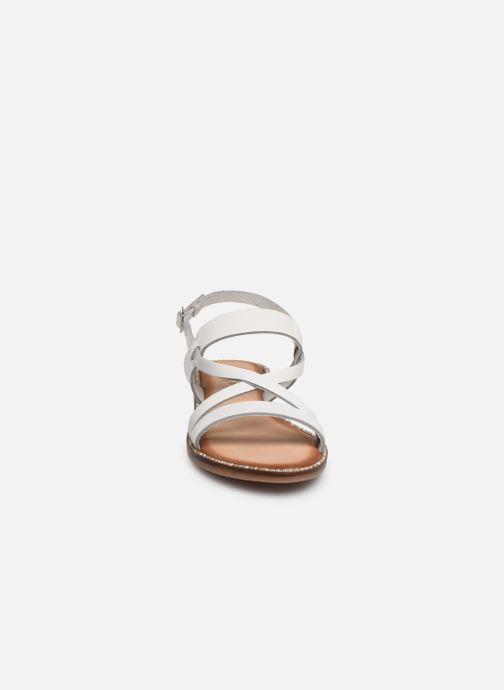 Sandales et nu-pieds Gioseppo 45382 Blanc vue portées chaussures