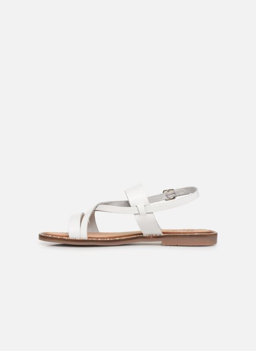 Sandals Gioseppo 45382 White front view