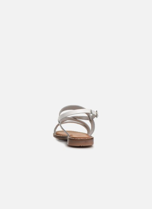 Sandals Gioseppo 45382 White view from the right