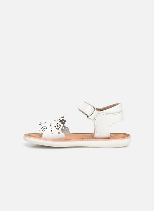 Sandals Gioseppo Bari White front view