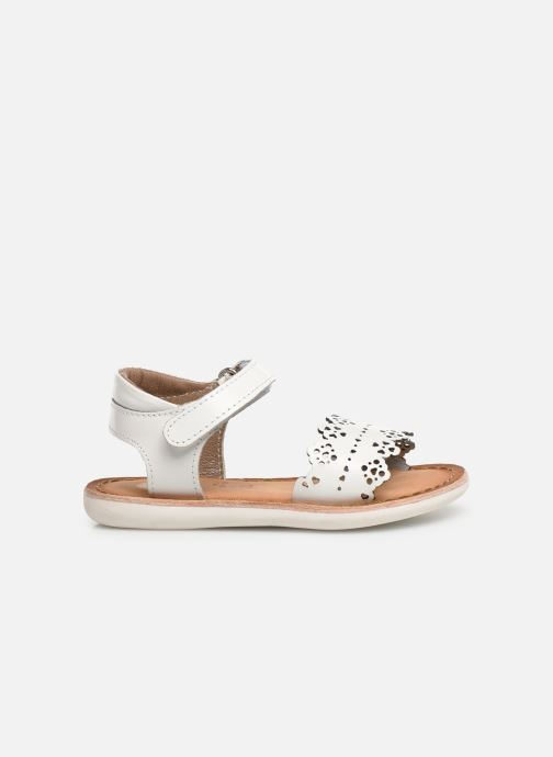 Sandals Gioseppo Bari White back view