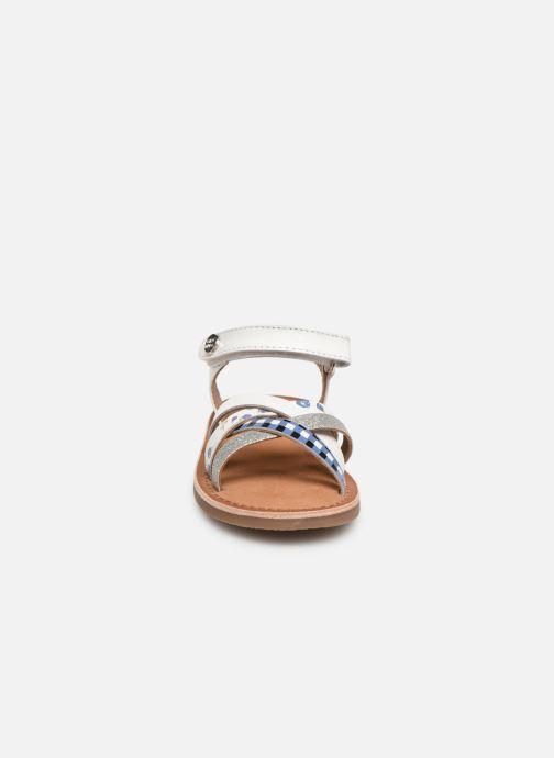 Sandalen Gioseppo Roven weiß schuhe getragen