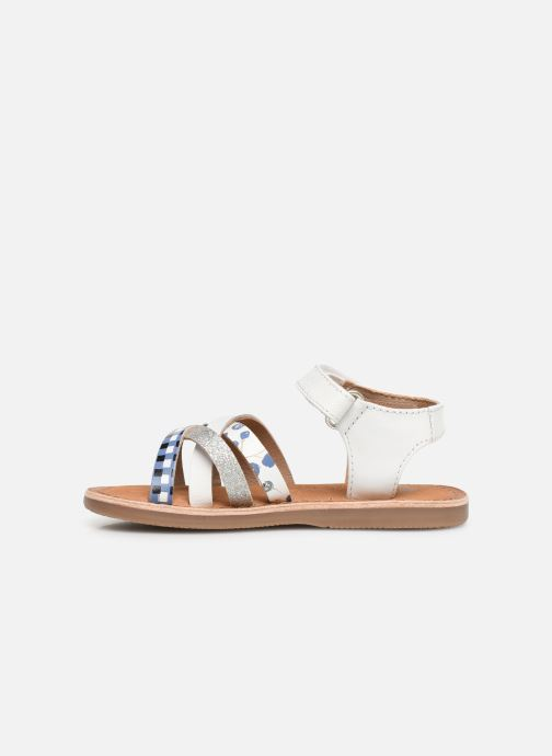 Sandals Gioseppo Roven White front view
