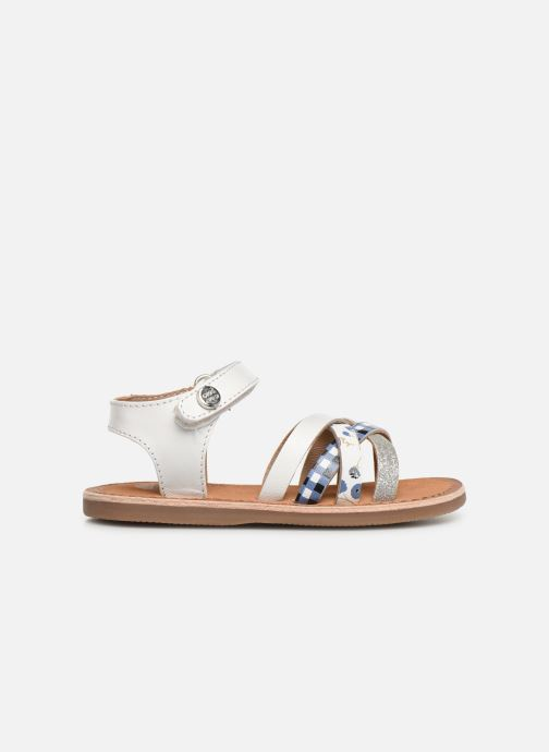 Sandals Gioseppo Roven White back view