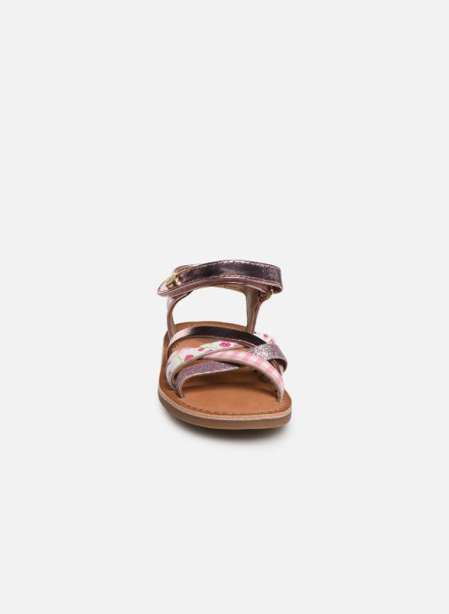 Sandals Gioseppo Roven Pink model view