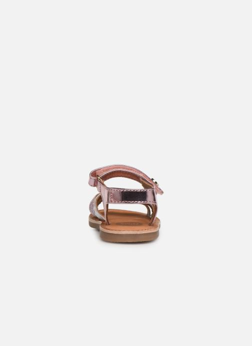 Sandals Gioseppo Roven Pink view from the right