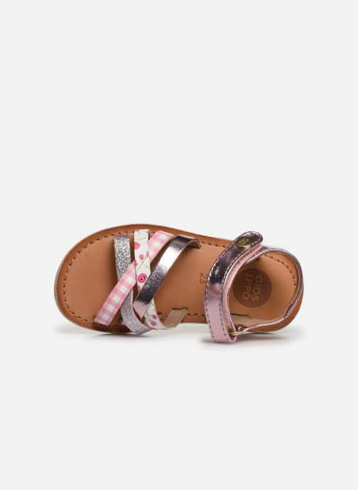 Sandals Gioseppo Roven Pink view from the left