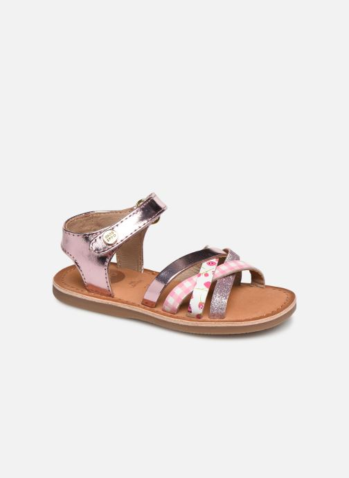 Sandals Gioseppo Roven Pink detailed view/ Pair view