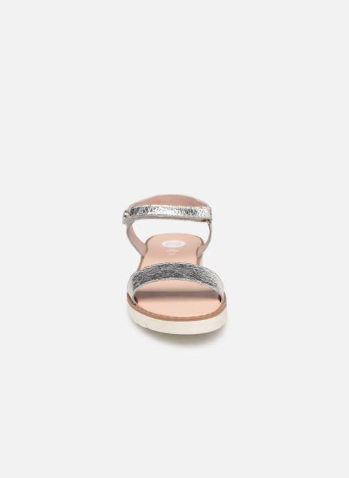Sandales et nu-pieds Gioseppo Massa Argent vue portées chaussures