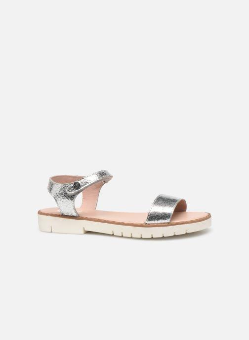 Sandales et nu-pieds Gioseppo Massa Argent vue derrière