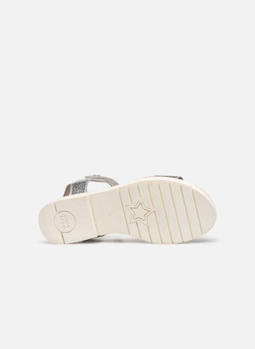 Sandales et nu-pieds Gioseppo Massa Argent vue haut