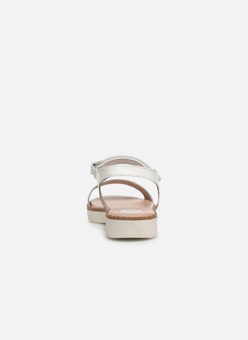 Sandales et nu-pieds Gioseppo Massa Blanc vue droite
