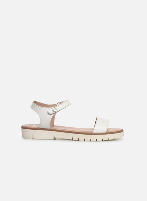 Sandales et nu-pieds Gioseppo Massa Blanc vue derrière
