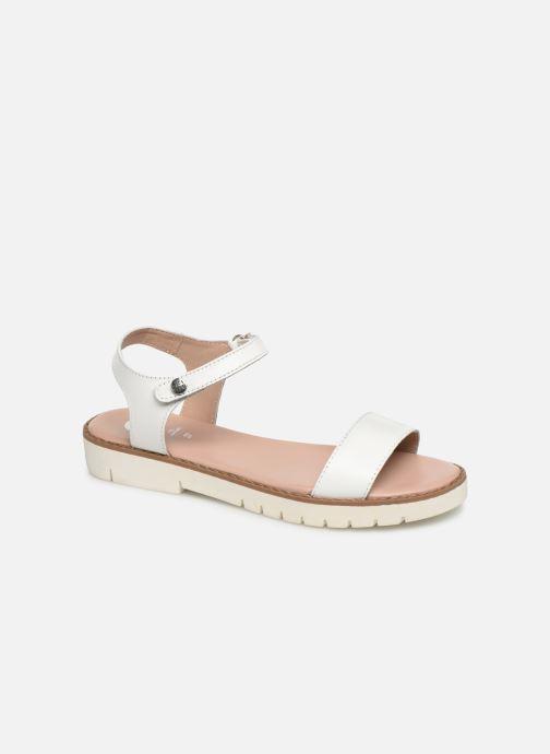 Sandales et nu-pieds Gioseppo Massa Blanc vue détail/paire