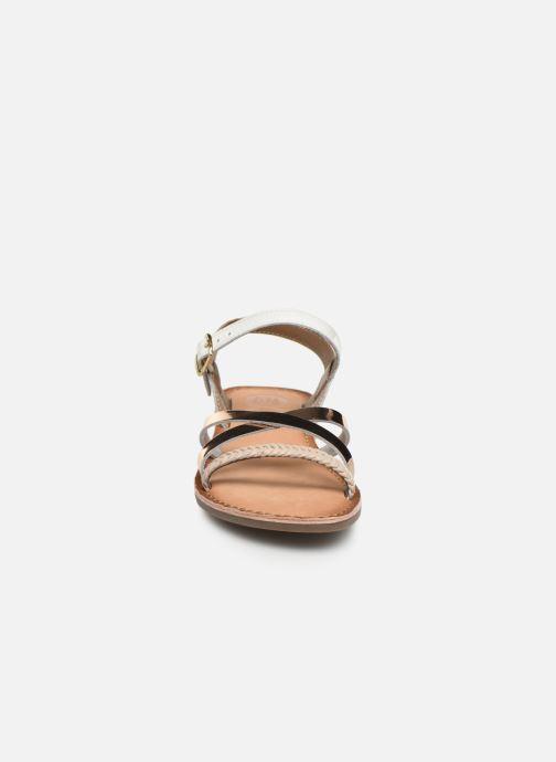 Sandalen Gioseppo Foligno weiß schuhe getragen