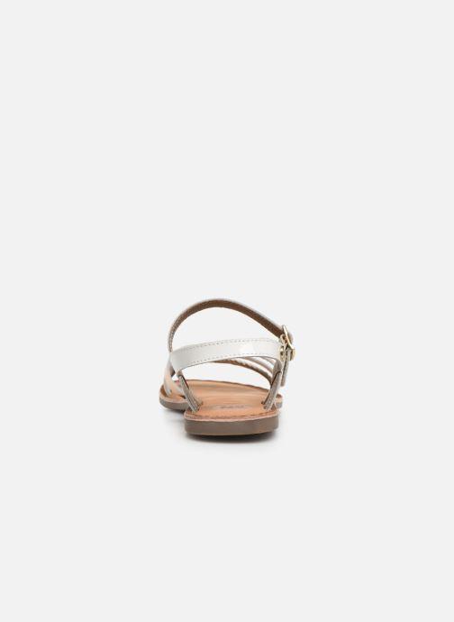 Sandali e scarpe aperte Gioseppo Foligno Bianco immagine destra