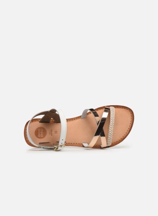 Sandali e scarpe aperte Gioseppo Foligno Bianco immagine sinistra