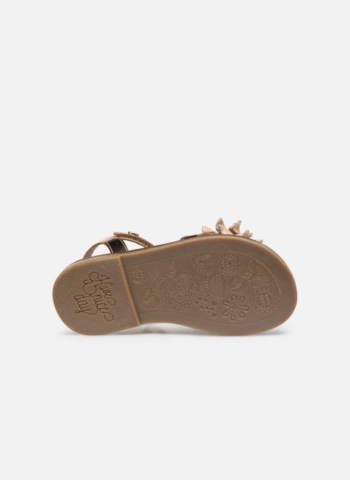 Sandales et nu-pieds Gioseppo 47882 Rose vue haut