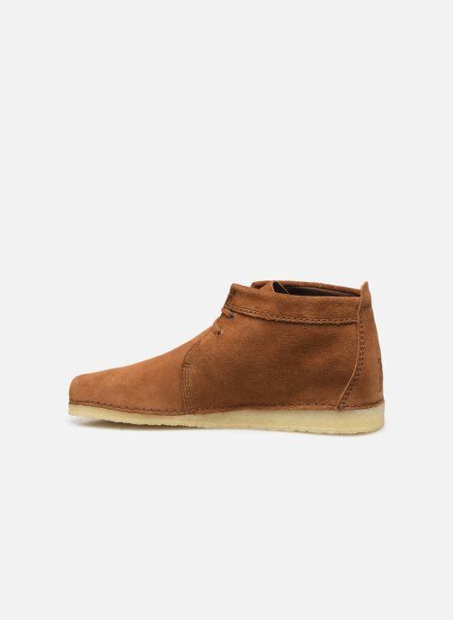 Stiefeletten & Boots Clarks Originals Ashton Boot braun ansicht von vorne