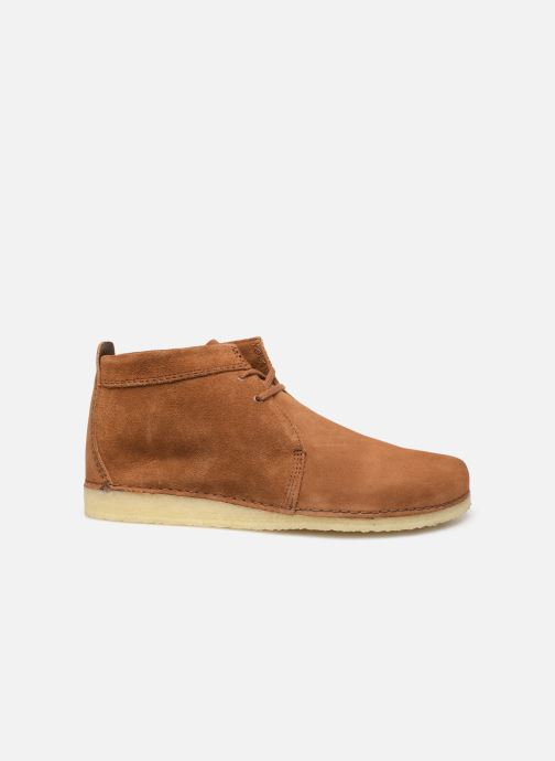 Botines  Clarks Originals Ashton Boot Marrón vistra trasera