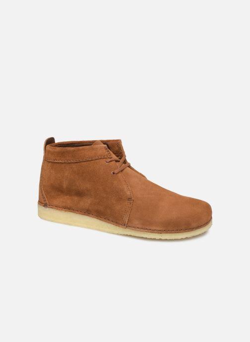 Stiefeletten & Boots Clarks Originals Ashton Boot braun detaillierte ansicht/modell