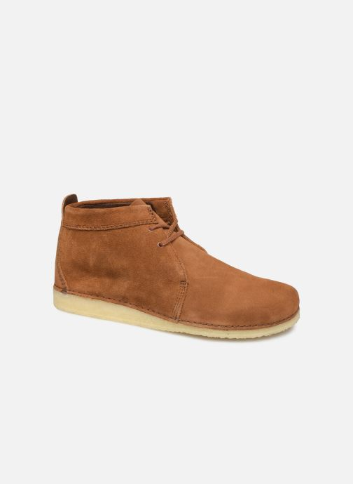 Bottines et boots Clarks Originals Ashton Boot Marron vue détail/paire